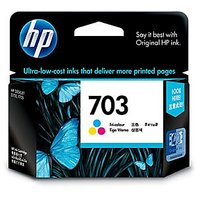 Hp Inkjet Cartridge 703 Tricolour Ink