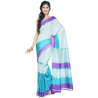 sudarshansilk Multicolor Synthetic