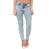 Wrangler Blue Casual Stretch Denims for Women