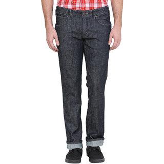 Wrangler Black Casual Cotton Jeans for Men