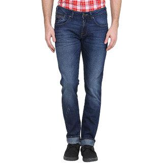 Wrangler Blue Casual Cotton Jeans for Men