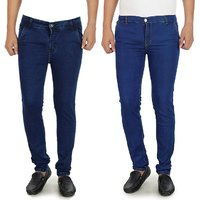 Pack of 2 Jeans 1  Dark Blue  1 Light Blue Jeans