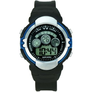 Crude Smart Digital Watch-rg296 With Adjustable PU Strap