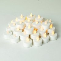 Set Of 2 Led  T/tea Light Candles