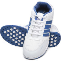 Combit White And Royal Blue Sport Shoes For Men