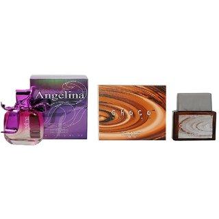 Ramco Angelina and Choco Trendz Perfume 100ML+100ML