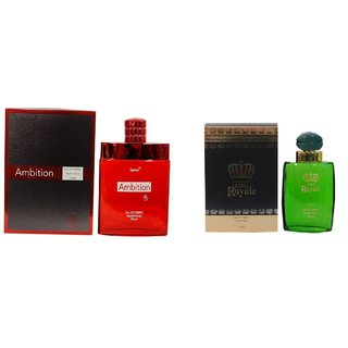 Ramco Exotic Ambition and King Royale Black Combo Perfume 100ML+100ML