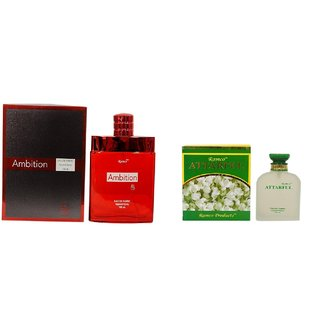 Ramco Exotic Ambition and Attarful Combo Perfume 100ML+100ML