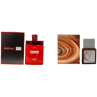 Ramco Exotic Ambition and Choco Trendz Combo Perfume 100ML+100ML