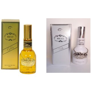 Vablon Exotic Best Gold and Best Silk Combo Perfume 120ML+120ML