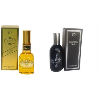 Vablon Exotic Best Gold and Black Mirage Combo Perfume120ML+120ML