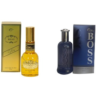 Vablon Exotic Best Gold and Blue Boss Combo Perfume 120ml+120ml