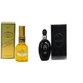 Vablon Exotic Best Gold and Black Poissy Combo Perfume 120ML+120ML