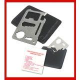 11in1 Multi Tool Credit Card Emergency Survival Pocket Knife