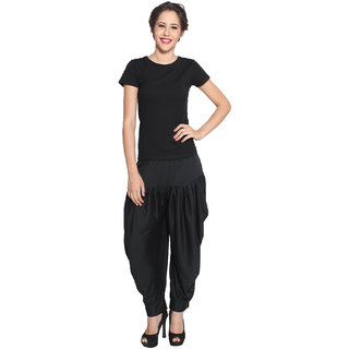Pietra Black colored Pan Style Dhoti