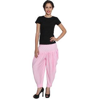 Pietra Light Pink colored Pan Style Dhoti