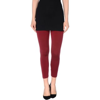 Pietra Mehroon colored plain legging