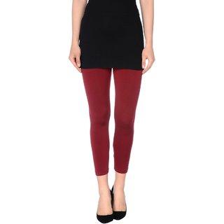 Pietra Mehroon colored plain legging