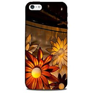 Mikzy Beautiful Sunflowers Pattern Printed Designer Back Cover Case for Iphone 5/5S
