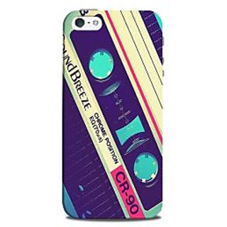 Mikzy Casette Pattern Printed Designer Back Cover Case for Iphone 5/5S