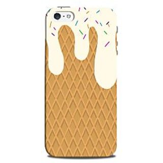 Mikzy Melted Icecream Printed Designer Back Cover Case for Iphone 5/5S
