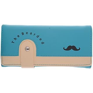 Cuddle Women's Clutch (Turquoise) (WMB204Turquoise)