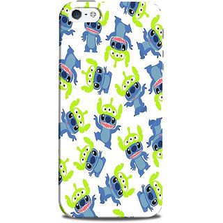 Mikzy Dancing Cartoons Printed Designer Back Cover Case for Iphone 5/5S