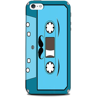 Mikzy Cassette Shape Pattern Printed Designer Back Cover Case for Iphone 5/5S