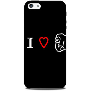 Mikzy I Love U  Printed Designer Back Cover Case for Iphone 5/5S