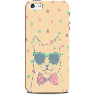 Mikzy Cvat Wearing Glasses Printed Designer Back Cover Case for Iphone 5/5S