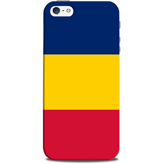Mikzy Three Colour Pattern Printed Designer Back Cover Case for Iphone 5/5S