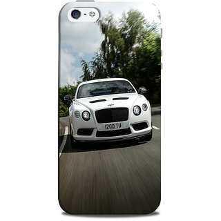 Mikzy Whiye Bentley Printed Designer Back Cover Case for Iphone 5/5S