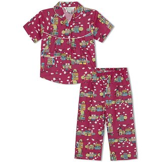 GreenApple Doll House Girls Nightsuit