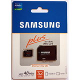 24hr Ship Out- Samsung 32 GB MicroSD Plus Class 10 Memory Card With 10yrs Warranty