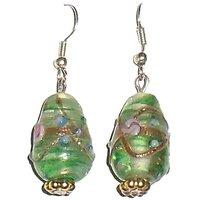 Beadworks Lampwork Glass Beads Earrings (Option 2)