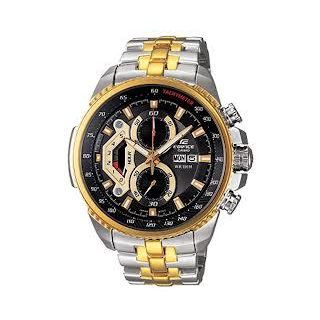 Imported Casio Edifice Analog Black Dial Men's Watch - EF-558SG-1AVDF (ED439)