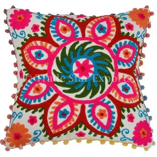 100 Cotton Embrodary Multicolor Cushion Covers From the house of Trade Star