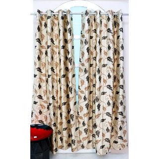 Beige Brown Curtains