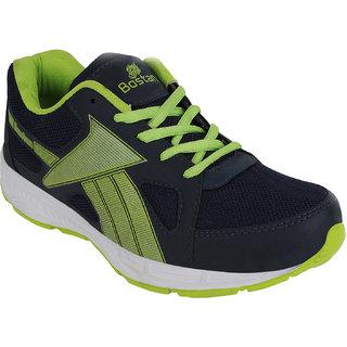 Bostan Men Navy Green Shoes