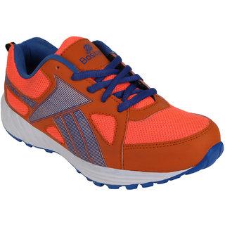 Bostan Men Orange Navy Shoes