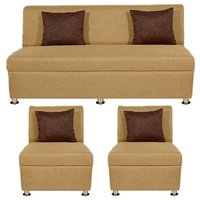 Bharat Lifestyle - Delta Cream Sofa Set (3+1+1)