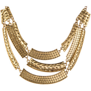 Diva Walk gold alloy necklace -00138