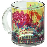 The Elephant Comoany Indian Caravan Serai Glass Coffee Mug