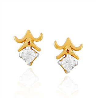 Beautiful diamond Earring by Me-Solitaire
