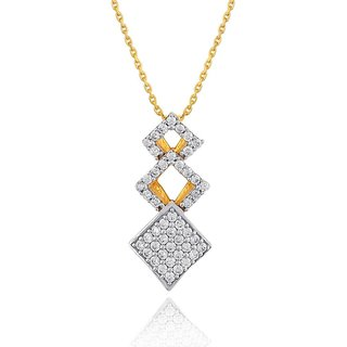 Beautiful diamond pendant by Nirvana