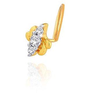 Beautiful diamond nosepin by Sangini