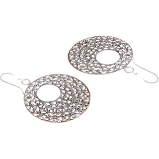 Diva Walk silver hoop earrings -00044