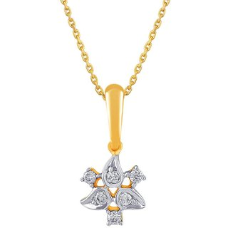 Gili 18K Yellow Gold Diamond Pendant