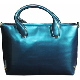 BagsHub Metallic  Blue fashion Bag (B0469-0000300073-V004)