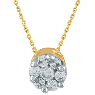 Beautiful diamond pendant by Shuddhi